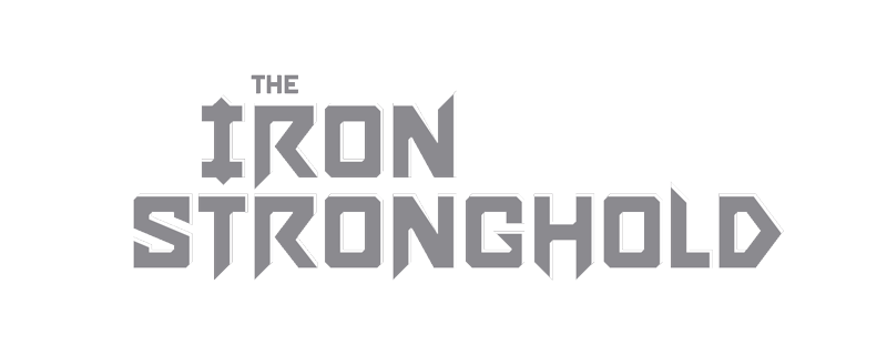 The Iron Stronghold Main Header Logo